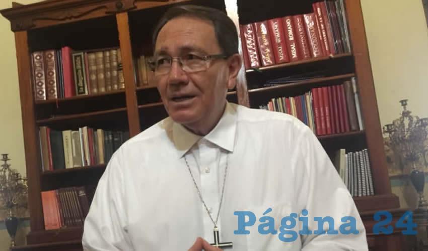 Ya Basta de Tanto Asesinato: Obispo de Zacatecas