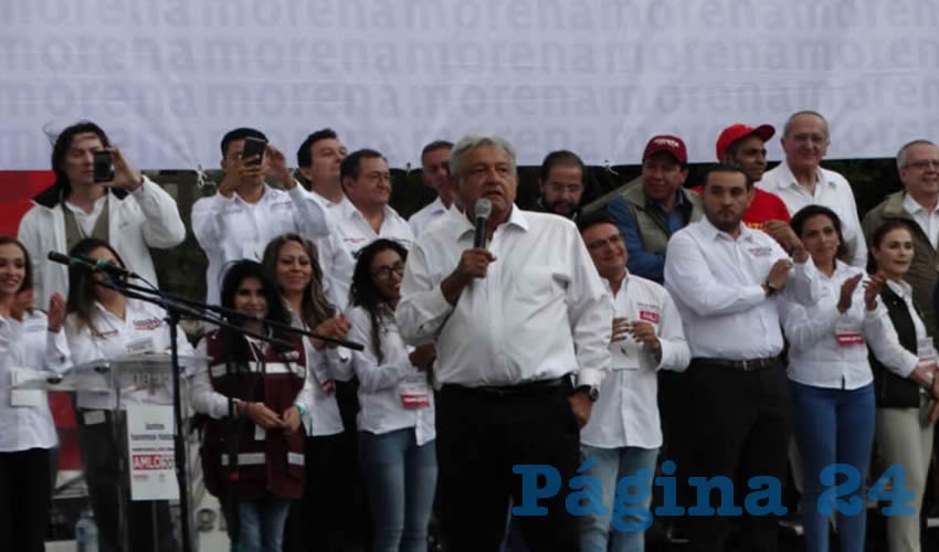 Vamos Entre Todos a Acabar con la Corrupción en el País: Convoca AMLO en su Cierre de Campaña