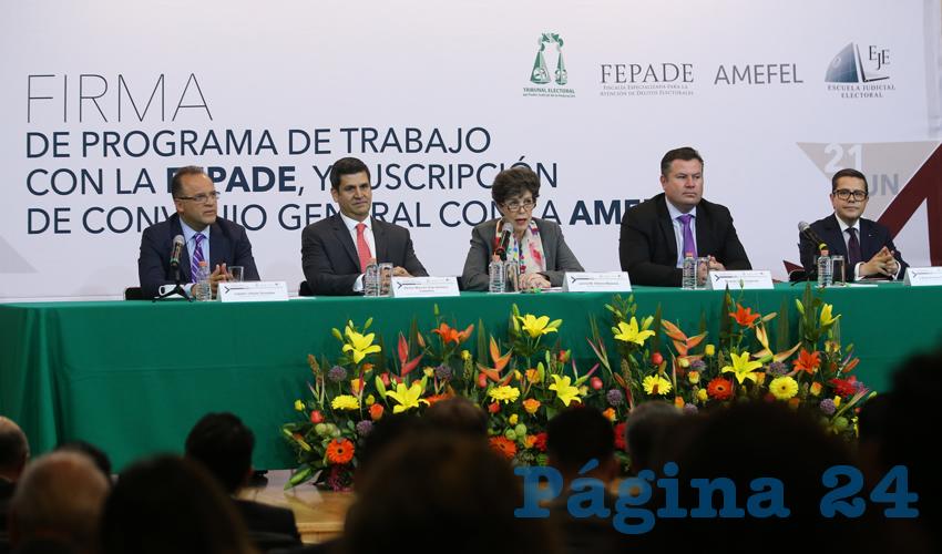 Autoridades Deben Garantizar la paz e Integridad de las Elecciones: TEPJF
