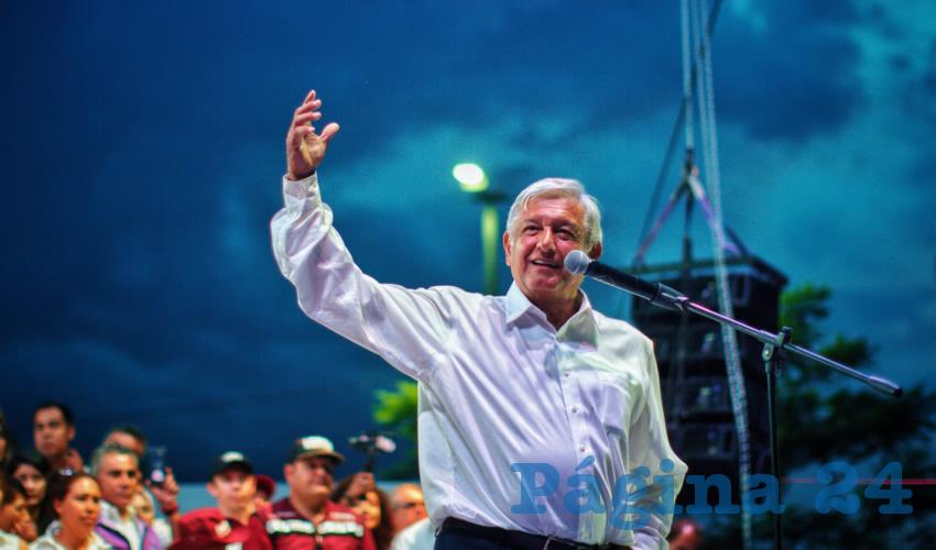 Efusiva Despedida de la Gente a López Obrador en Guadalajara