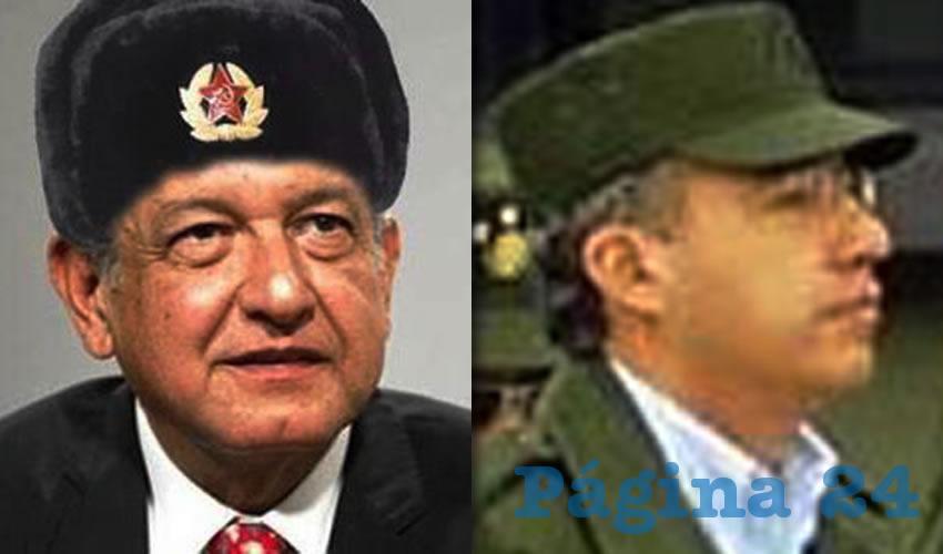Andrés Manuel López Obrador ...quesque apoyado por los rusos... Felipe Calderón Hinojosa ...el usurpador...