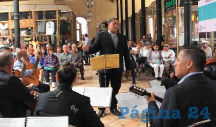 Celebra Orquesta Típica del Ayuntamiento de Zacatecas Nombramiento Como Patrimonio Inmaterial del Estado