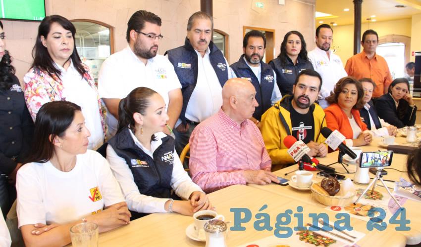 La Presidencia de la República es Entre dos Candidatos: Aguilar