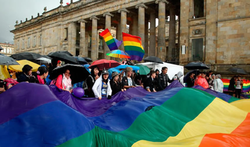 La Comunidad LGBTI Marchó en Colombia Contra la Discriminación