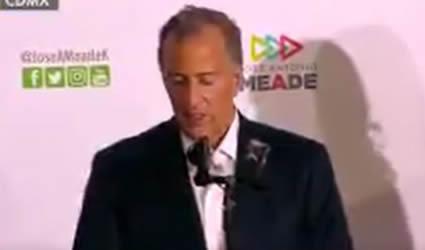 José Antonio Meade Reconoce que la Encuesta de Salida Presidencial no lo Favorece