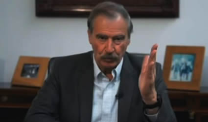 El Cínico Vicente Fox, Sale en Defensa de López Obrador