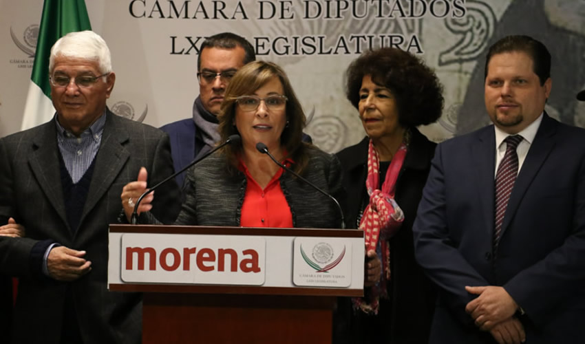 Rocío Nahle García confirmó que desde el 1 de diciembre comenzará la construcción de una nueva refinería (Foto: Archivo/ Cuartoscuro)