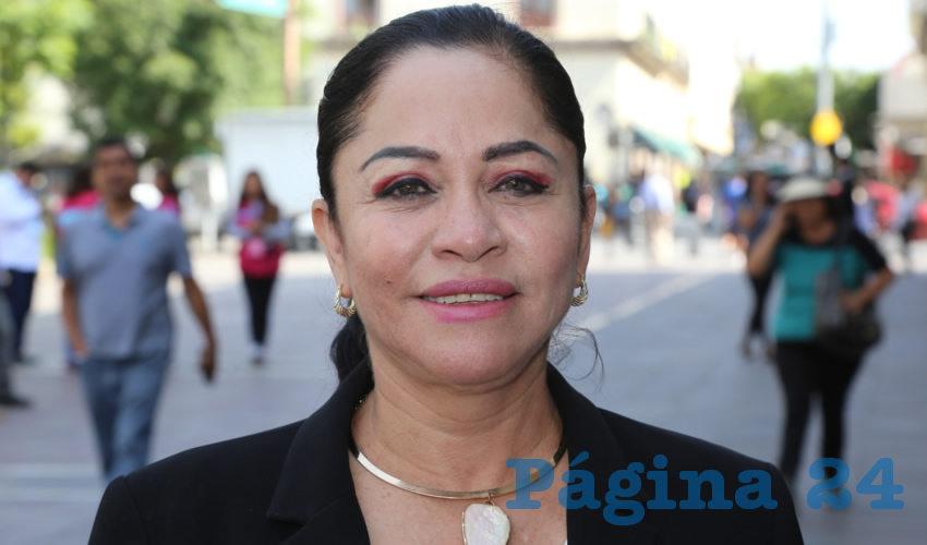 Josefina Moreno Pérez, diputada local (Foto: Eddylberto Luévano Santillán)