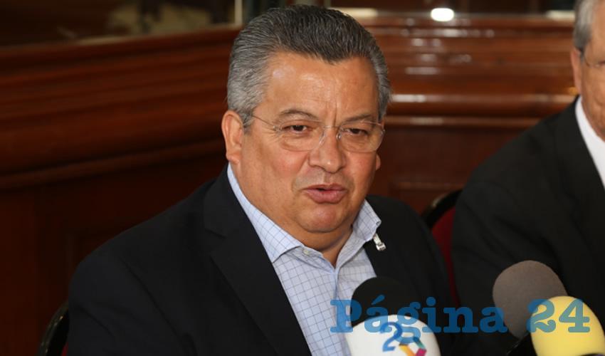 Ricardo Enrique Morán Faz, titular de la Seggob (Foto: Eddylberto Luévano Santillán)