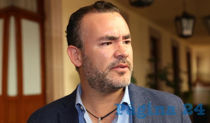 Mauricio González López, regidor capitalino (Foto: Eddylberto Luévano Santillán)