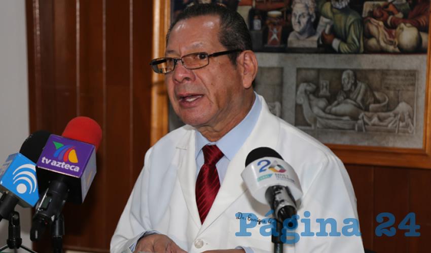 Enrique Ávalos Carrazco, presidente de la Sociedad Nacional de Medicina General (Foto: Eddylberto Luévano Santillán)
