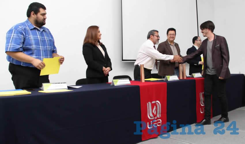 La Universidad Autónoma de Aguascalientes llevó a cabo la clausura de la tercera generación de la maestría en Ingeniería Civil