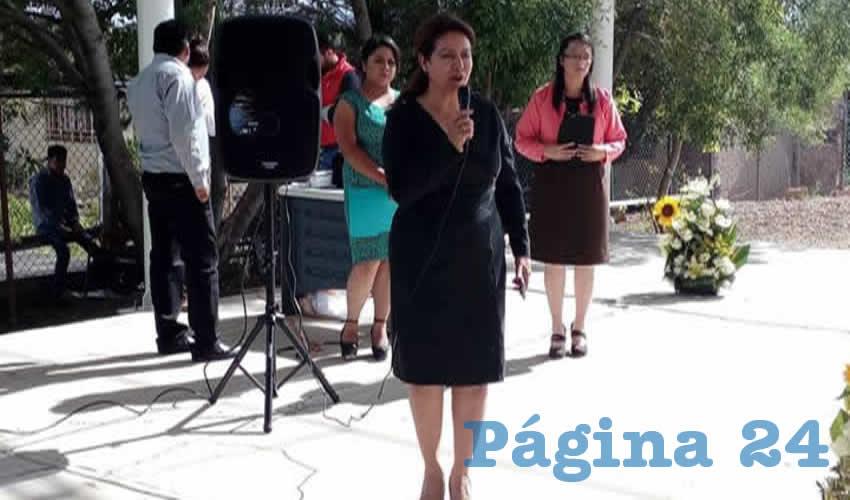 Elizabeth Vega Ávila, directora regional 02 Federalizada de la Secretaría de Educación de Zacatecas (Seduzac)