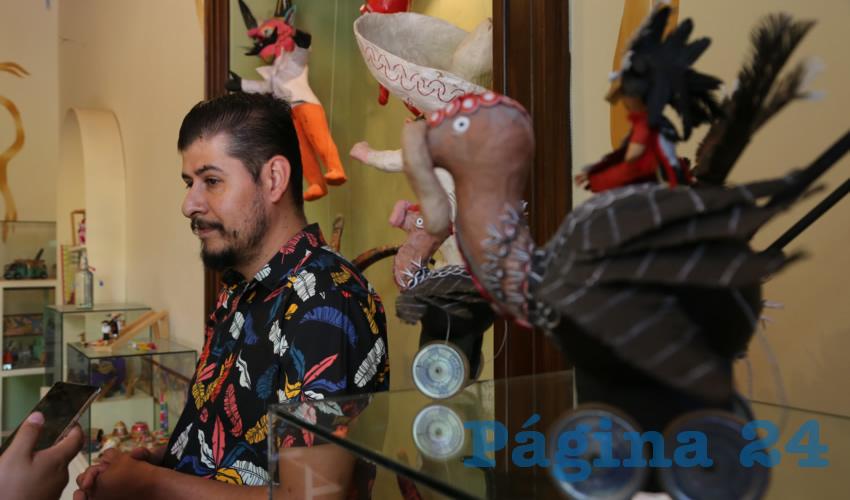 Exhibe Cartonería y Artesanías el Museo del Juguete Mexicano