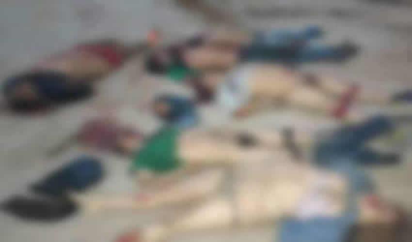 Torturan y Ejecutan a 6 Personas, Tres Hombres y Tres Mujeres