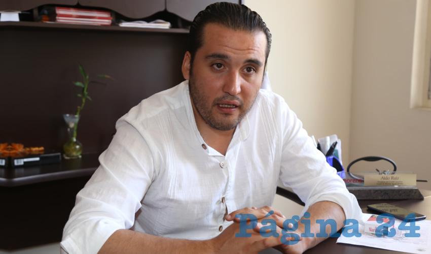 """Ese Sujeto, Fernando Alférez, Está Fuera de mi """"Ranking"""": Aldo Ruiz"""