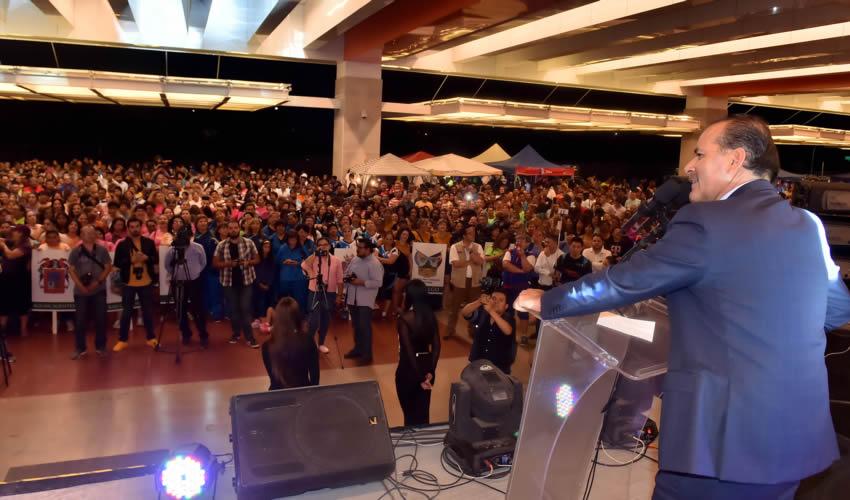 Inaugura el Gobernador Orozco el Festival Nacional Máster de Voleibol 2018