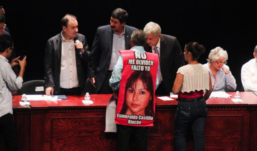 En Ciudad Juárez AMLO Pide a Víctimas que Perdonen