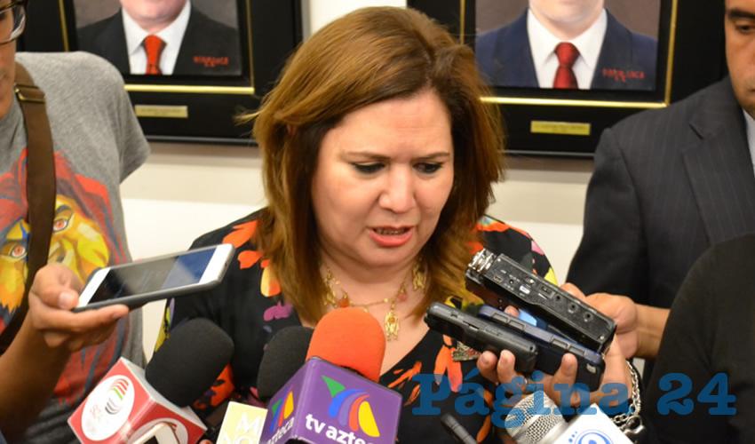Fabiola Torres Dice Estar Preparada Para Dejar la Secretaría General de Gobierno