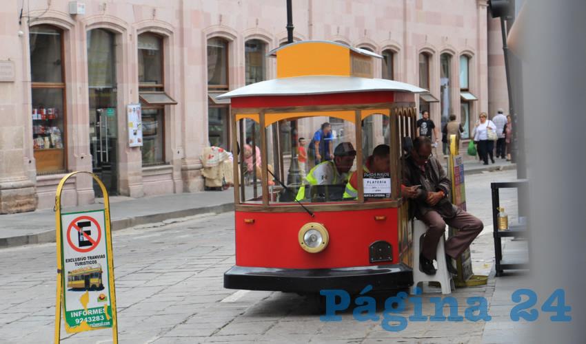 Eduardo Yarto Aponte, titular de la Secretaría de Turismo del Zacatecas, expuso que pese a que se haya anunciado que el mes de julio fue el más violento del año, hay condiciones para que la gente acuda como turista a la entidad zacatecana (Foto Rocío Castro)