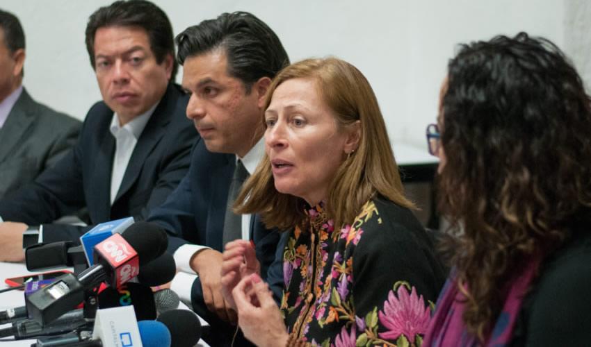 Ciudad de México.- Fue instalada una mesa de trabajo para discutir opiniones sobre el modelo de Fiscalía General (Foto: Diego Simón Sánchez/ Cuartoscuro)