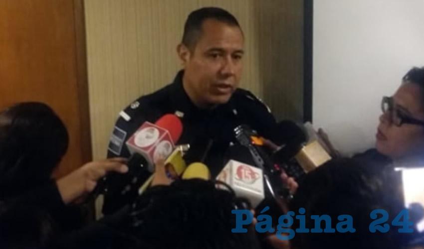 Hugo Rafael Sánchez González, Inspector de la Policía Federal en Zacatecas, comentó en entrevista que la División de Fuerzas Federales, que operaba en la entidad, se retiró al estado de Guanajuato, por estrategia de la federación (Foto Manuel Medina Castro)