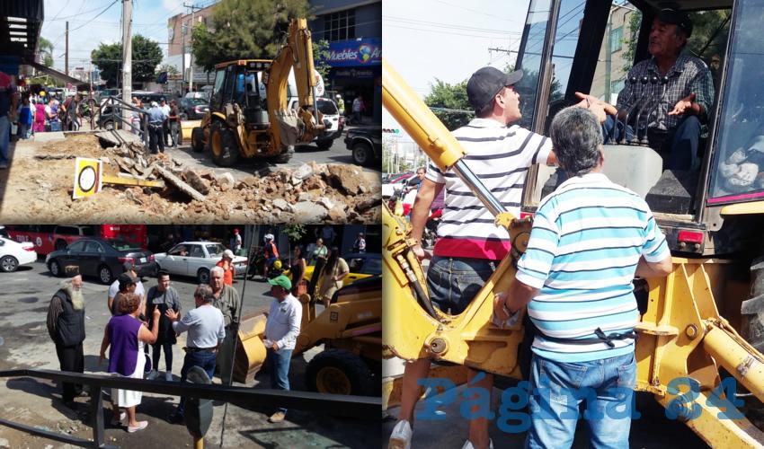 """""""¡Ya terminen las obras en  el mercado San Juan Bosco!"""""""