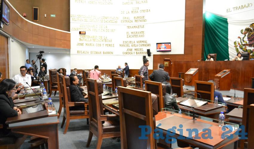 Observaciones Resarcitorias Para el Poder Legislativo por 335 mil Pesos
