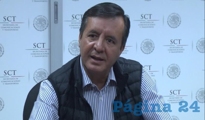 """""""Ese valor de las tierras del 75 a la fecha, es de enero de 2017 valen 62 millones de pesos, la actualización, les hemos pagado 57, ¿cuánto les debemos? Pero ni siquiera el juez ha dicho: págales la diferencia. No hay ninguna sentencia sobre ese particular"""", sostuvo Salvador Fernández, de la SCT Jalisco"""
