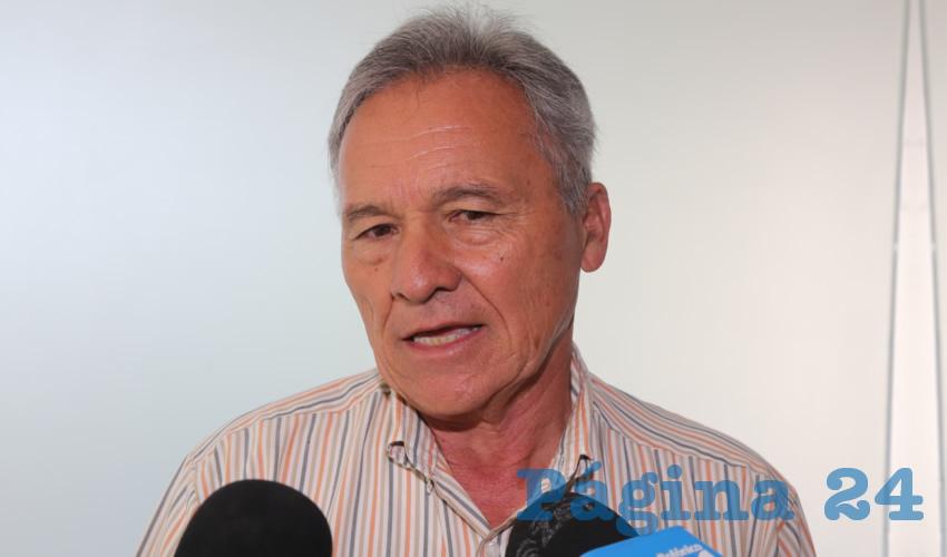 Antonio Rodríguez Mirelles, presidente de la Canadevi