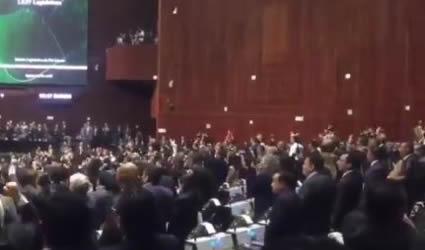 Nuevos Diputados Federales Realizan Conteo por los 43