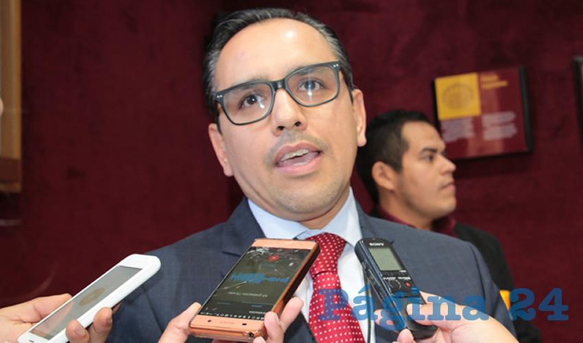 Salvador Villa Almaraz, fiscal especializado en el combate a la corrupción. (Foto: Rocío Castro)