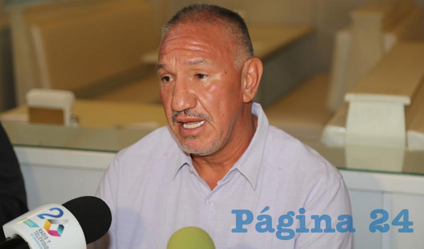 Julio César Aguirre García, presidente de la ALAPA