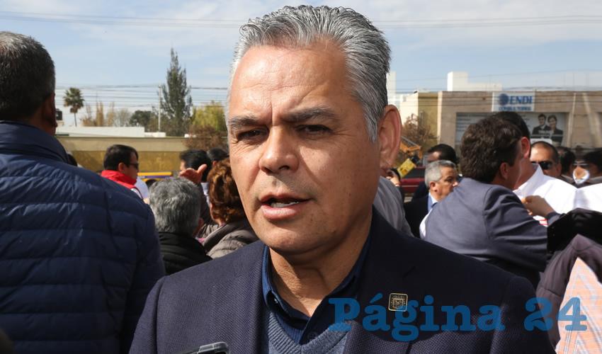 Noel Mata Atilano, presidente municipal de Jesús María