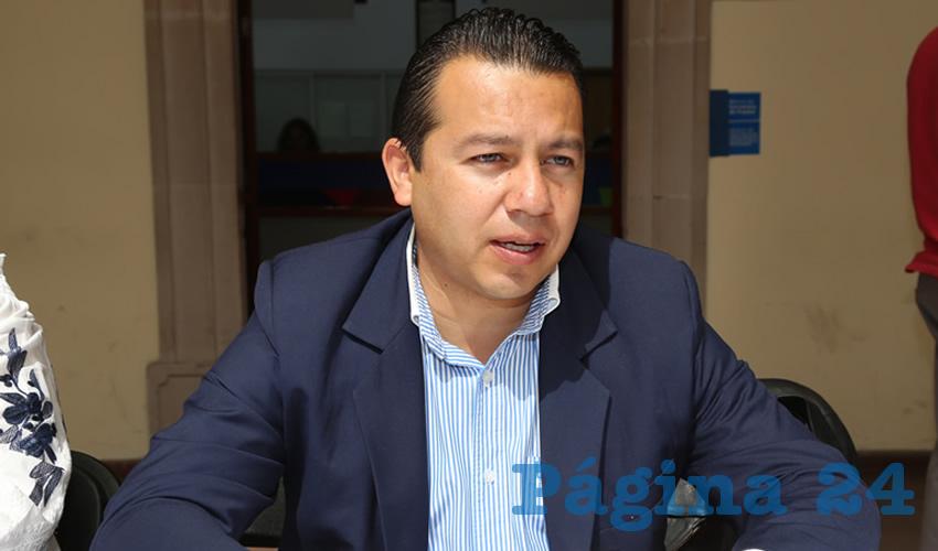 Óscar Daniel Monreal Dávila, director general del DIF