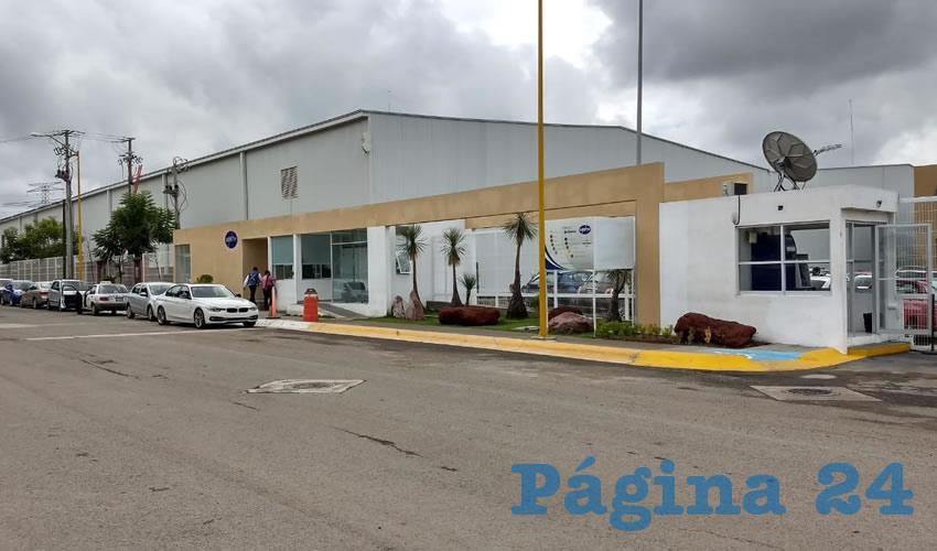 La empresa Minth México, en donde fue aplastado Javier Alejandro Vega Silva