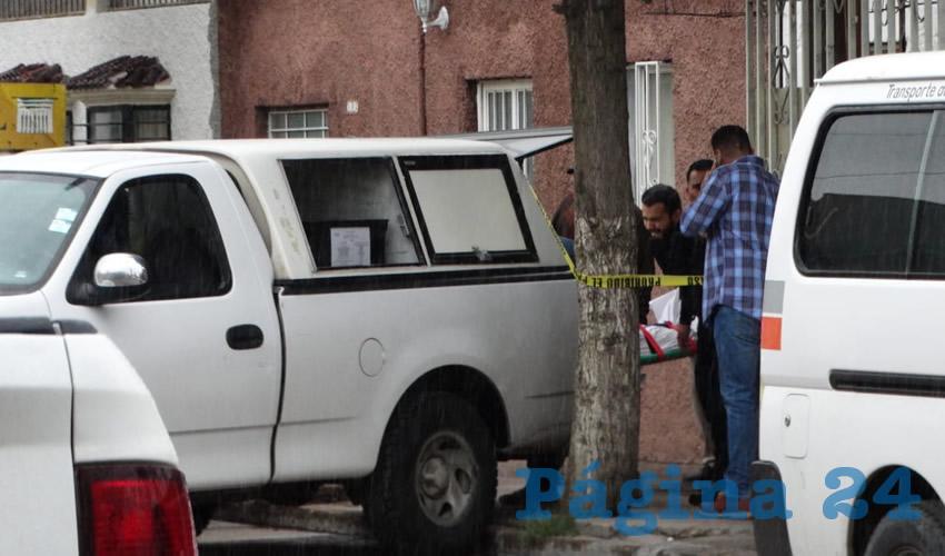 En calle 20 de Noviembre 290, ejido Ojocaliente, se quitó la vida José Ángel Ramírez Ortiz