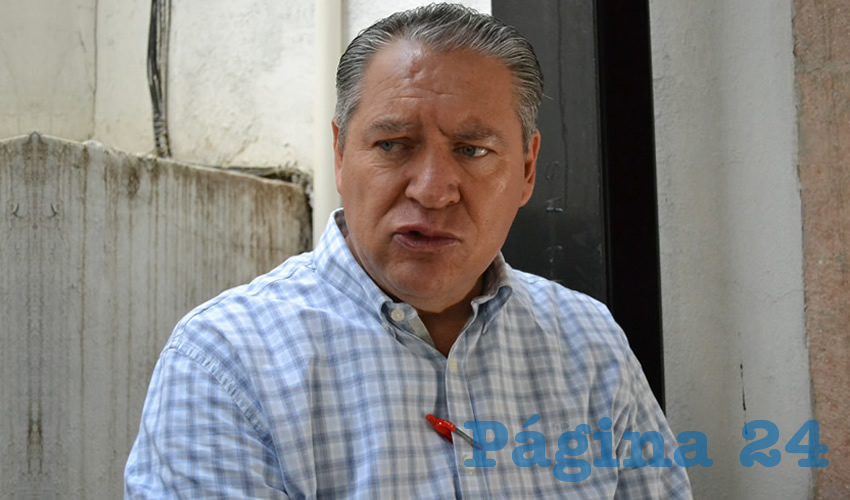 Javier Calzada Vázquez, diputado local