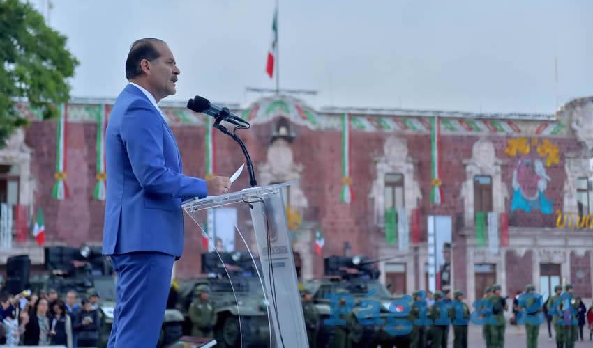 Martín Orozco Sandoval encabezó la ceremonia conmemorativa del 171 Aniversario de la Gesta Heroica de los Niños Héroes de Chapultepec