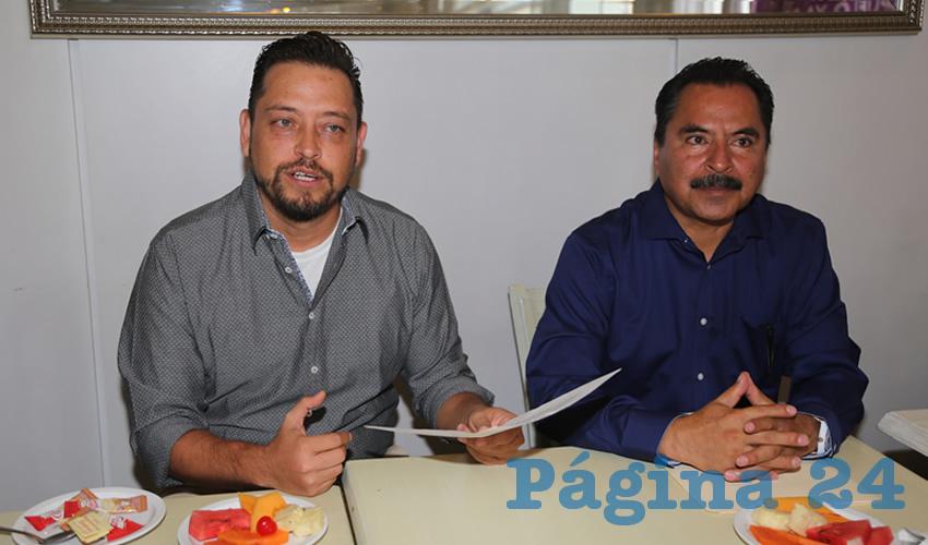 Óscar Francisco Reynal Muñoz, presidente de la asociación Ciudadanos Organizados (Foto: Eddylberto Luévano Santillán)