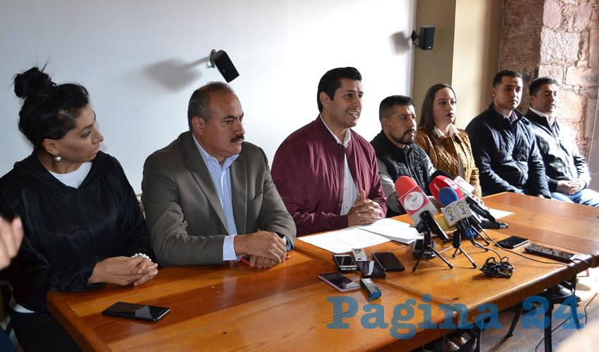 """Julio César Chávez Padilla, presidente municipal electo de Guadalupe: """"la deuda pública es la peor del municipio y la peor registrada en cualquier municipio del estado de Zacatecas"""" (Foto Merari Martínez Castro)"""