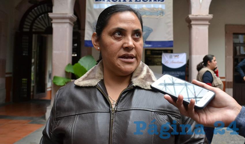 Patricia de Lira Gómez (Foto Merari Martínez Castro)