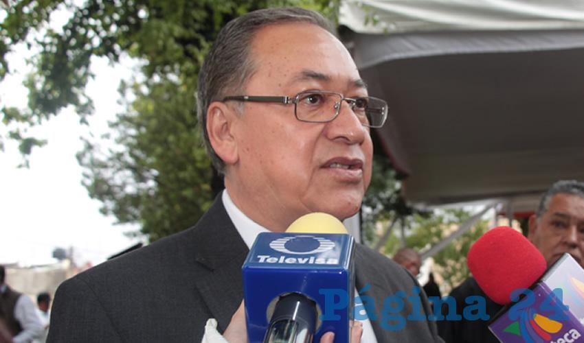 Miguel Rivera Villa, subsecretario de transporte público dependiente de la secretaría general de Gobierno (Foto Rocío Castro)