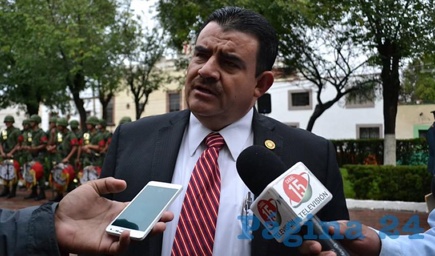 José María González Nava, diputado local del Partido Revolucionario Institucional (PRI) (Foto Merari Martínez Castro)