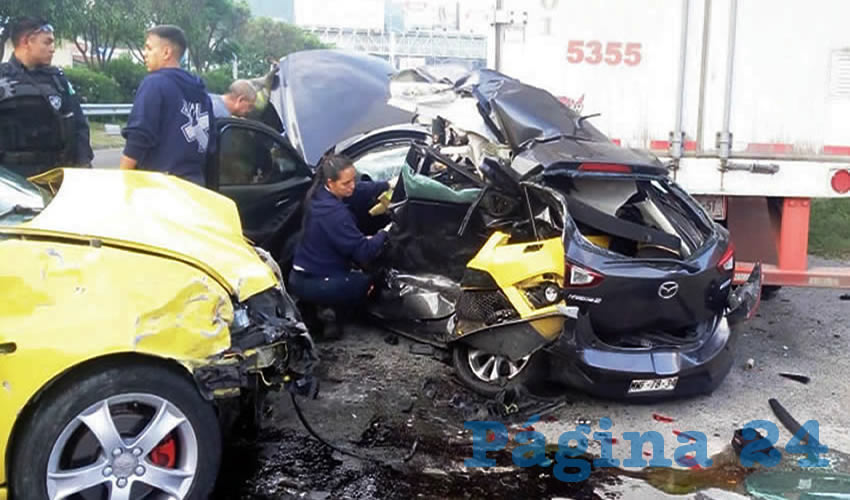 Muere uno en accidente carretero