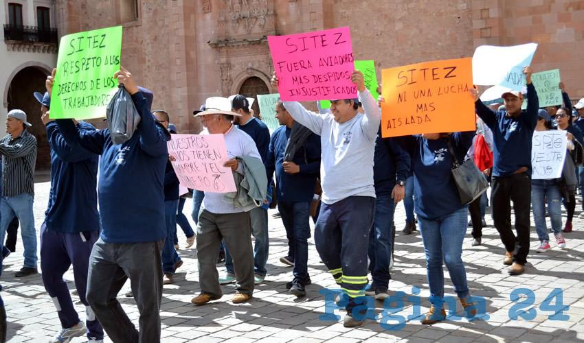 """""""No más Despidos Injustificados"""", la Consigna"""