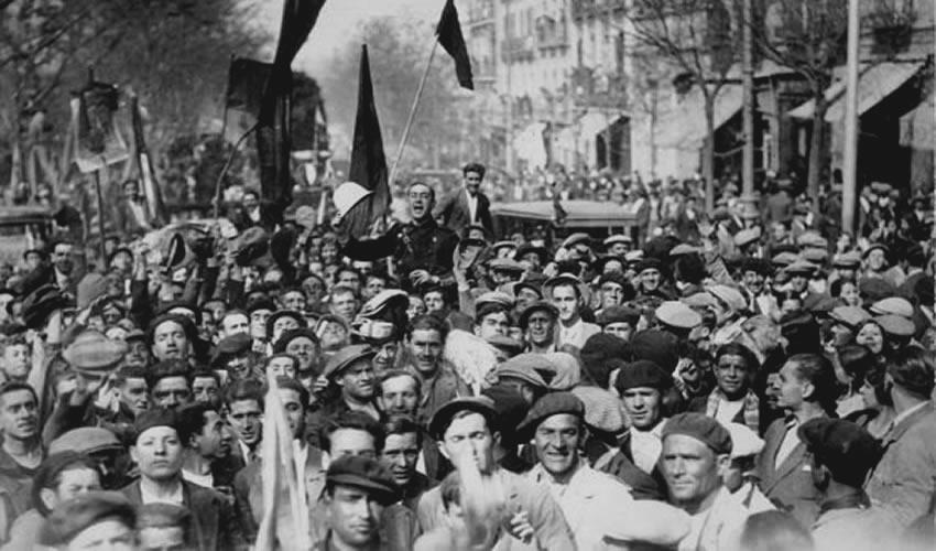 Proclamación de la Segunda República en Madrid, el 14 de abril de 1931