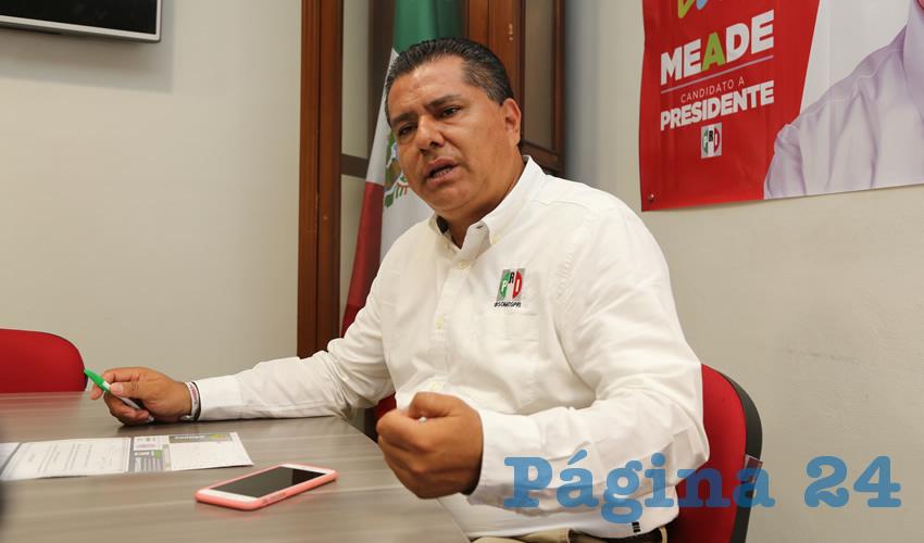 """No Habrá más """"Dedazos"""" en el PRI Ordenados por las """"Expresiones"""": Enrique Juárez Ramírez"""