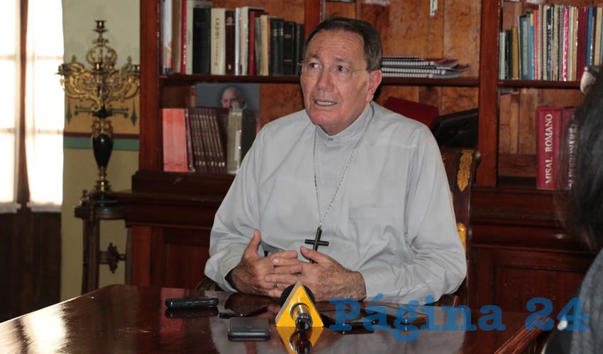 Aprueba el Obispo Noriega Cambios en el Gabinete del Gobernador Tello