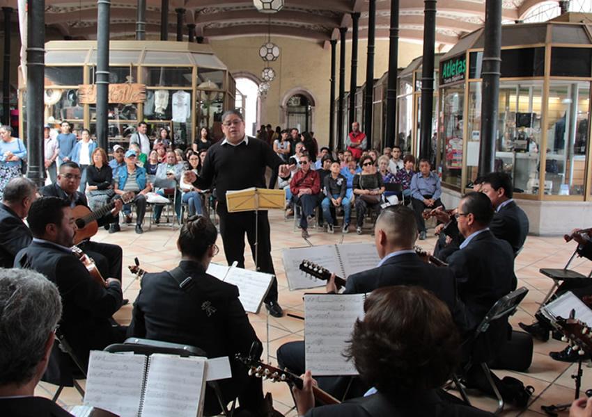La Orquesta Típica de Zacatecas Beneficia al Mercado González